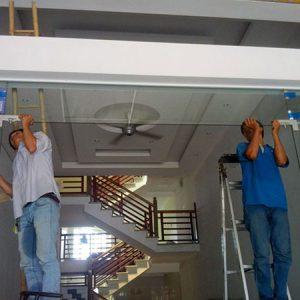 Sửa cửa kính cường lực Hải Phòng