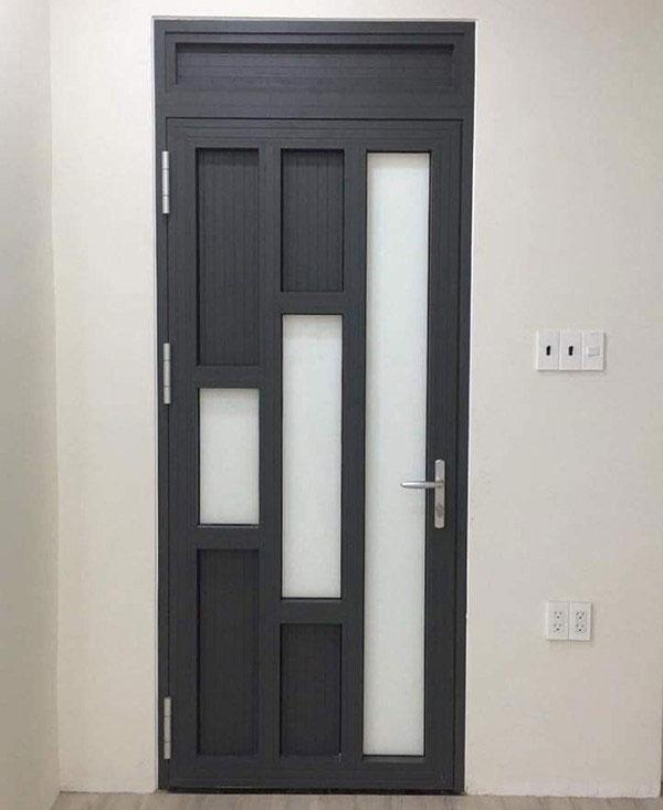 Lắp cửa nhôm thông phòng tại Hải Phòng